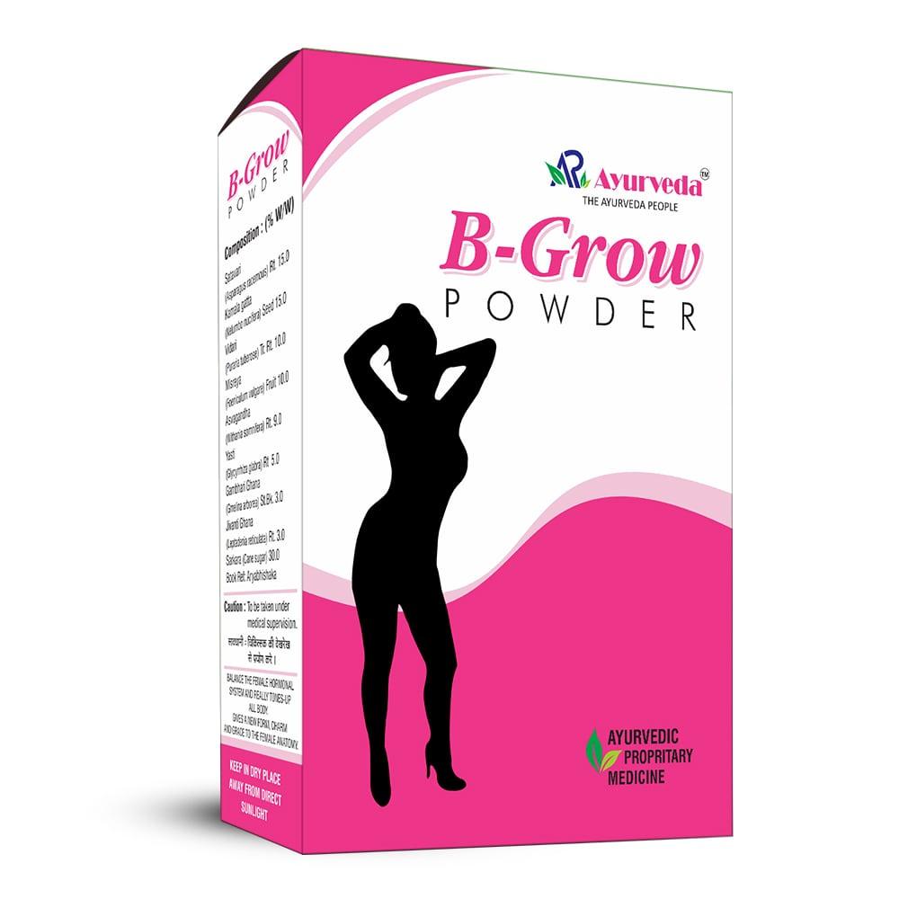 B Grow Powder- Ayurvedic weight gain Powder for Female